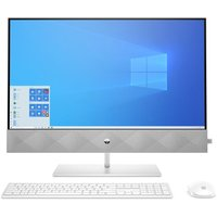 """HP Pavilion 27-d1007na 27"""" All-in-One PC - Intel®Core™ i7, 1 TB SSD, White, White"""