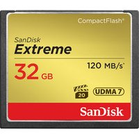'Sandisk Extreme Compact Flash Memory Card - 32 Gb