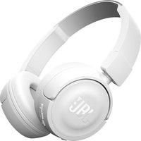 JBL T450 Headphones - White, White