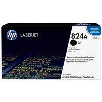 HP 824A LaserJet Image Drum Black Ink Cartridge, Black