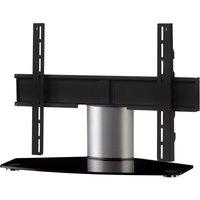 SONOROUS Plasma PL2310 B-SLV 750 mm TV Stand with Bracket - Black & Silver, Black