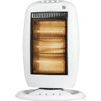 STATUS Premium Portable Halogen Heater   White  White