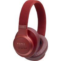 LIVE 550BT Wireless Bluetooth Earphones - Red, Red
