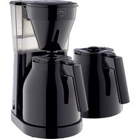 MELITTA Easy Top Therm II Filter Coffee Machine with Spare Jug - Black, Black