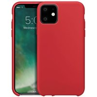 iPhone 11 Silicone Case - Red, Red