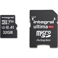 INTEGRAL V30 Class 10 microSD Memory Card - 32 GB