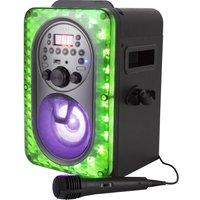 AKAI A58103 Bluetooth Karaoke System - Black, Black.