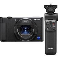 SONY ZV1 High Performance Vlogging Camera & Shooting Grip Bundle.