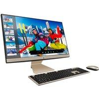 "ASUS Vivo AiO V241 23.8"" All-in-One PC - Intel®Core i3, 1 TB HDD & 256 GB SDD, Black & Gold, Black"