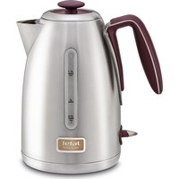 TEFAL Maison KI2605UK Jug Kettle - Stainless Steel & Pomegranate Red, Stainless Steel