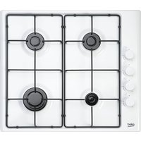Click to view product details and reviews for Beko Hizg64120sw Gas Hob White White.