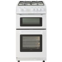 NEW WORLD 50GTC 50 cm Gas Cooker - White, White