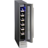 MONTPELLIER WS7SDX Wine Cooler - Stainless Steel, Stainless