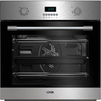 LOGIK LBMFMX17 Electric Single Oven - Stainless Steel, Stainless Steel