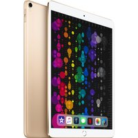 APPLE 10.5 iPad Pro Cellular - 64 GB, Gold (2017), Gold