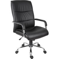 Teknik Kendal 6901BLK Faux-leather Reclining Ergonomic Office Chair