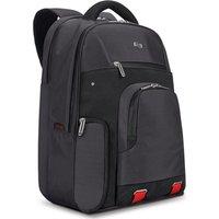 Solo Transit Slim Pro750-4 15.6 Laptop Backpack - Black, Black