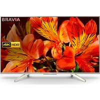 49 SONY BRAVIA KD49XF8577SU Smart 4K Ultra HD HDR LED TV, Red