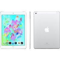 APPLE 9.7 iPad - 32 GB, Silver (2018), Silver