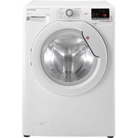 HOOVER Dynamic WDXOC 496A Smart 9 kg Washer Dryer - White, White
