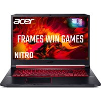 Acer Nitro 5 AN517-51 17.3 Intel Core i5 Gaming Laptop - 1 TB HDD & 256 SSD