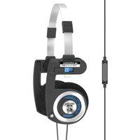 KOSS Porta Pro Headphones - Black & Blue, Black