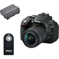 NIKON D5300 DSLR Camera with 18-55 mm f/3.5-5.6 Zoom Lens, Black