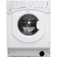 HOTPOINT BHWM1492 Integrated Washing Machine - White, White