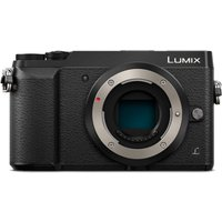 PANASONIC DMC-GX80EB-K Compact System Camera - Black, Body Only, Black sale image