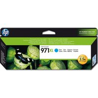 HP 971XL Cyan Ink Cartridge, Cyan