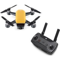DJI Spark Drone & Controller Bundle, Yellow