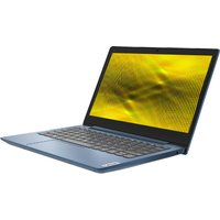 "LENOVO IdeaPad Slim 1 11.6"" Laptop - AMD A4, 64 GB eMMC, Blue, Blue"