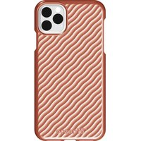 Ocean Wave iPhone 11 Pro Max Case - Coral, Coral