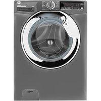 HOOVER H-Wash 300 H3WS610TAMCGE NFC 10 kg 1600 Spin Washing Machine – Graphite, Graphite.