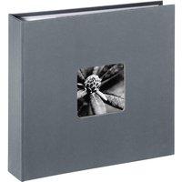 HAMA 1704 Memo Fine Art Photo Album - Grey, 80 Pages, Grey