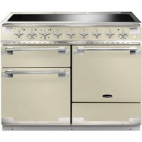 Rangemaster Elise 110 Electric Induction Range Cooker - Cream and Chrome, Cream