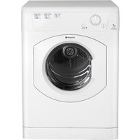 Hotpoint Tumble Dryer Aquarius TVM570P Vented  - White, White