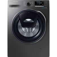 SAMSUNG AddWash WW90K6414QX/EU Washing Machine - Graphite, Graphite