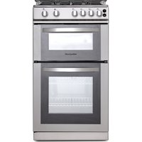 MONTPELLIER MDG500LS 50 cm Gas Cooker - Silver, Silver