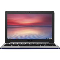 "ASUS C201 11.6"" Chromebook - Silver, Silver"