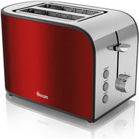 Buy SWAN Townhouse ST17020REDN 2-Slice Toaster - Red, Red - Currys