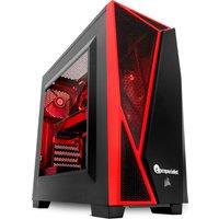 PC SPECIALIST Tornado R5 AMD Ryzen 5 GTX 1060 Gaming PC - 1 TB HDD, Transparent