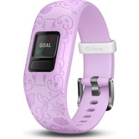 GARMIN vivofit jr 2 Kid's Activity Tracker - Lilac Disney Princess, Adjustable Band