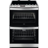 AEG CIS6742ECM 60 cm Electric Induction Cooker - Stainless Steel, Stainless Steel