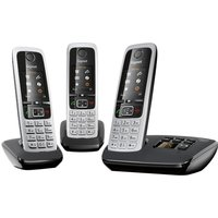 Click to view product details and reviews for Gigaset C430a Trio Cordless Phone With Answering Machine Triple Handsets.