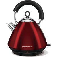 MORPHY RICHARDS Accents 102029 Traditional Kettle - Red, Red