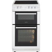 BELLING FS50EDOC 50 cm Electric Ceramic Cooker - White, White