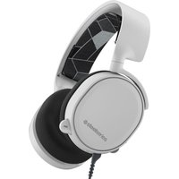 SteelserieS Arctis 3 7.1 Gaming Headset - White, White