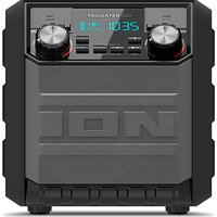 Ion Tailgater Go Portable Bluetooth Wireless Speaker - Black, Black