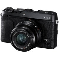 FUJIFILM X-E3 Mirrorless Camera with XF 23 mm f/2 Lens - Black, Black